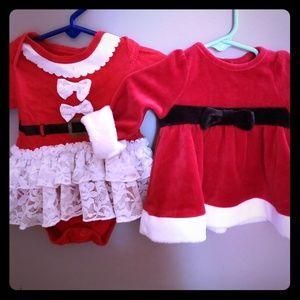 Other - Baby girl Christmas dresses